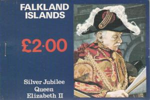 Falkland Islands #254a, 255a, 256a Complete Booklet CV $21.50 (K1311L)