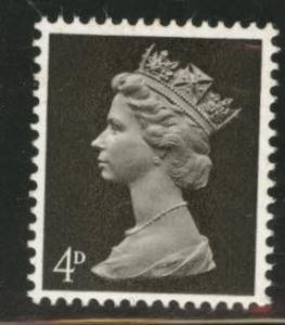 Great Britain Scott MH6 MNH** 1967 Machin