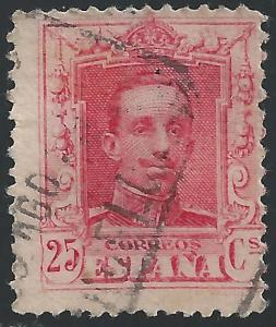 Spain #338 25c King Alfonso XIII