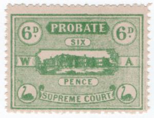 (I.B) Australia - Western Australia Revenue : Probate 6d