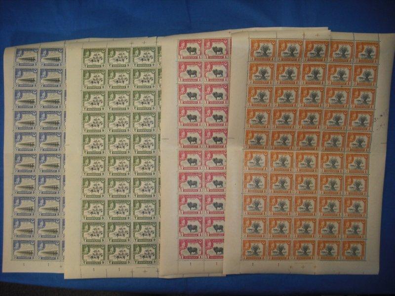Pakistan: Bahawalpur: 1949 25th Anniv Ruling Amir Khan V, MNH, Sht/50, Sc #22-25