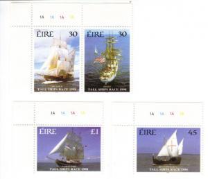 Ireland #1141-44 MNH cpl tall ships race