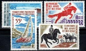 Afars And Issas #344-7 MNH CV $20.75 (X1381)