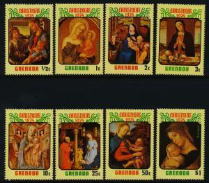 Grenada 574-81 MNH Christmas, Art, Paintings