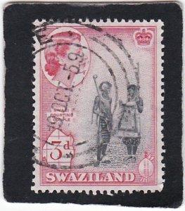 Swaziland,  #  58   used