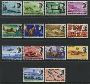 British Solomon Islands QEII 1968 set to $2 mint o.g.
