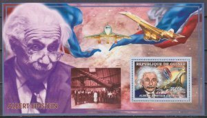 Guinea 2006 CONCORDE EINSTEIN SPACE s/s Perforated Mint (NH)