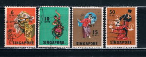 Singapore  87-89;93 Used Dancers (S0448)
