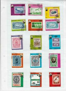paraguay stamps page ref 17059
