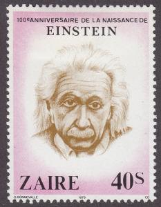 Zaire 953 Albert Einstein 1980