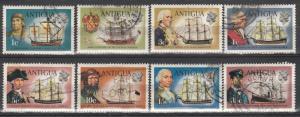 Antigua #242-6, 248-8, 252 F-VF Used CV$11.95