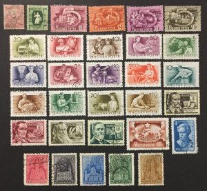 Hungary Used Lot #101821, 31 all different issues, CV $7.75++