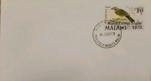 O) 1970 MALAWI, RAND EASTER SHOW JOHANNESBURG, EASTER SHOW, SCT 131, FDC XF