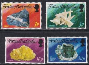 Tristan Da Cunha # 230-242, Local Minerals, 1/2 Cat.
