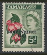 Jamaica SG 185  Used  SC# 189    Independence OPT see details