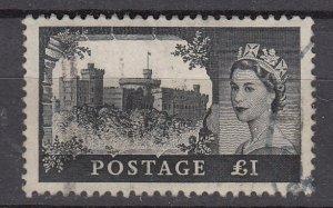 J26582  jlstamps 1959-68 great britain hv of set used #374 castles wmk 322