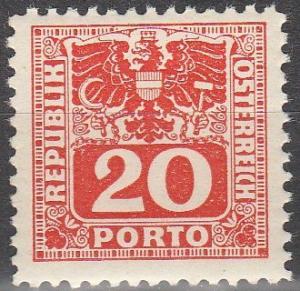 Austria #J181  MNH (S8945)