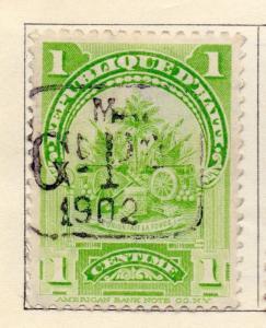 Haiti 1898-1900 Early Issue Fine Mint Hinged 1c. Optd 154265