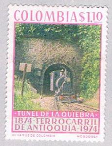 Colombia 824 MLH Train Tunnel 1974 (BP30119)