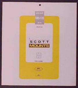 Scott/Prinz Pre-Cut Souvenir Sheets Small Panes Stamp Mounts 185x172 #1023 Clear