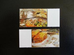 Bosnia and Hercegovina #496-97 Mint Never Hinged (M7O4) - Stamp Lives Matter! 4