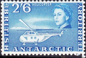 BRITISH ANTARCTIC TERRITORY 1963 QEII 2/6s Blue SG12 MH