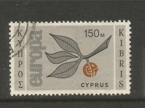 CYPRUS  1965  150m  EUROPA  FU    SG 269