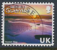 Guernsey  SG 1239 SC# 997h  Coastlines  Vazon Bay Used  see details