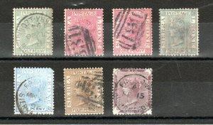 Sierra Leone 1884-96 values to 6d FU CDS/FU