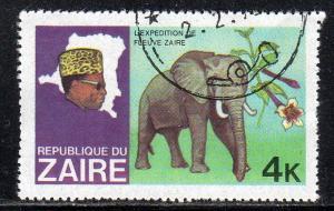Zaire 904 - Cto - Elephant