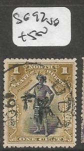 North Borneo SG 92 VFU (2cmp)