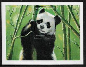 Angola #1065 MNH S/Sheet - Panda Bear