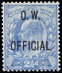 Great Britain Scott O52 Gibbons O39 Mint Stamp