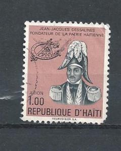 HAITI STAMP,VFU REPUBLIQUE D' HAITI DESSALINES 1.00 .#AA18