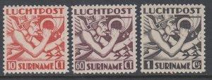 Suriname C20-C22 MNH VF