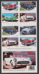 US 3935b Cars Booklet MNH VF