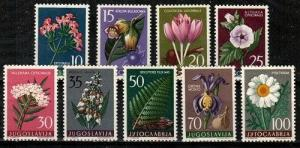 Yugoslavia Scott 469-77 Mint NH (Catalog Value $24.65)