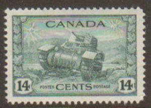 Canada #259 Used