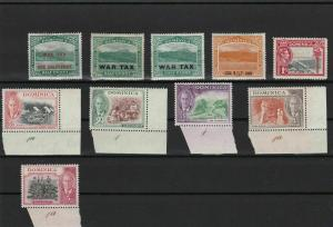 [SOLD] dominica mounted mint stamps ref r12455