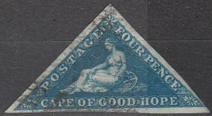 Cape Of Good Hope #13  F-VF Used CV $120.00 (A16457)