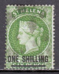 St. Helena - Scott #31 - Used - Pencil on reverse - SCV $15