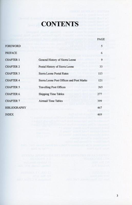 The Postal History Of Sierra Leona por Edward B. Proud