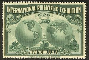 US  #630 International Philatelic Exhibition, same expo as White Plains Sheet...