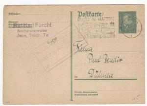 Germany Michel #P183 postal card used