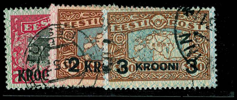 ESTONIA 105-07  Used (ID # 70976)