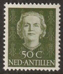 Netherlands Antilles 1950 Sc 225 MH*