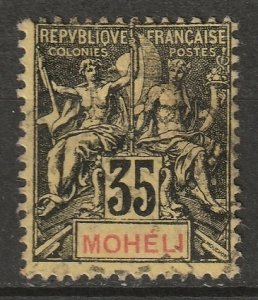 Moheli 1906 Sc 9 used