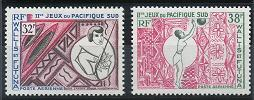Wallis and Futuna C27-C28 MNH (1966)