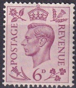 Great Britain #243   MNH