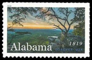US #5360 {55c}Alabama, 2019, MNH, (PCB-1)